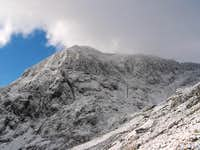View of Summit from Pyg Track...