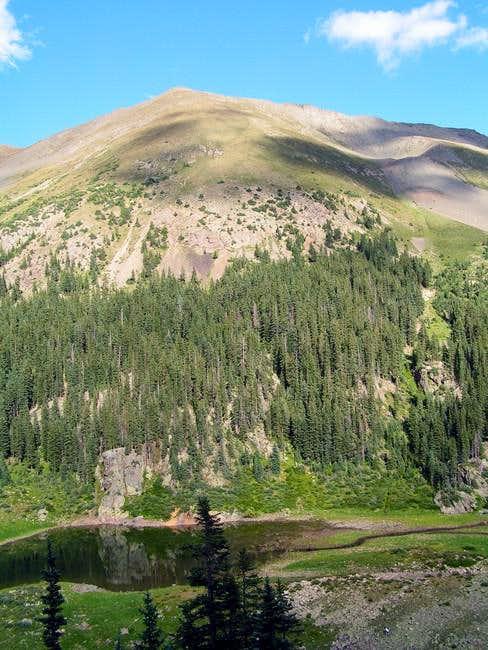 view of Wheeler Peak from...