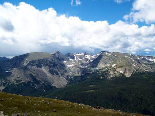 Terra Tomah Mountain (left)...