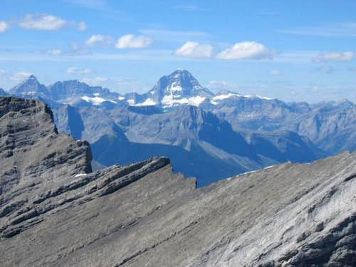 Mt Assiniboine from the...