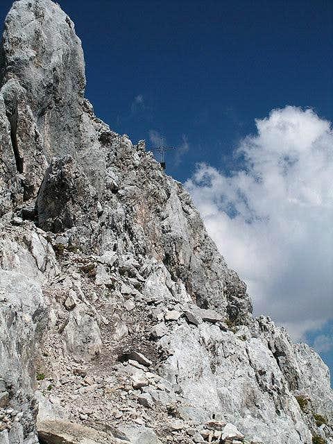 Summit cross of Vorderer...