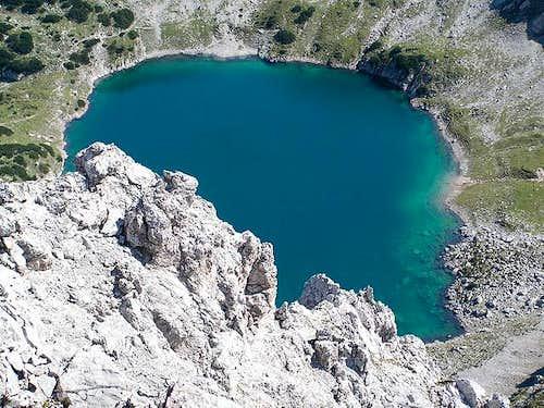 Drachensee (Dragon-lake) from...