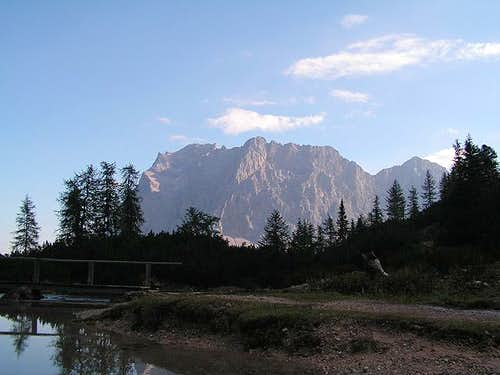 Zugspitzen seen from...