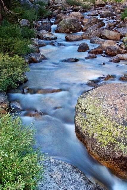 Tuolumne River near the...