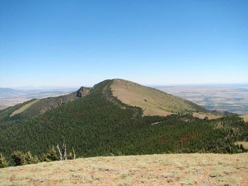 Drake Peak from the summit of...