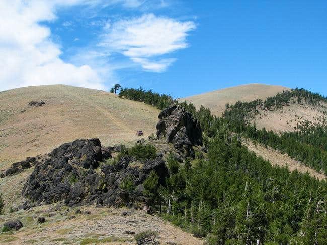 East ridge of Light Peak. 4WD...
