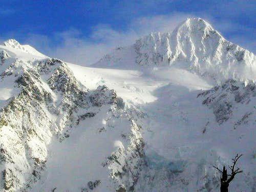 Mt. Shuksan from Mt. Baker...