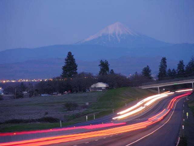 Mount McLoughlin from I-5....