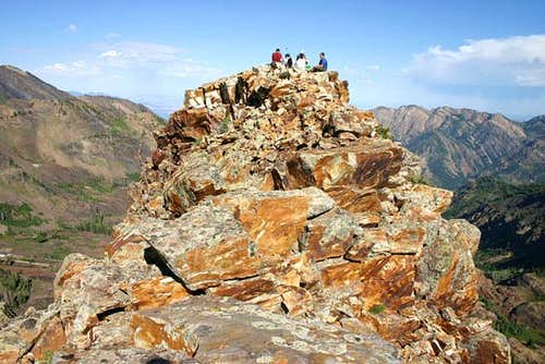Summit of Sundial Peak,...