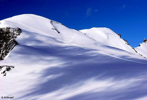 South side of Breithorn from...