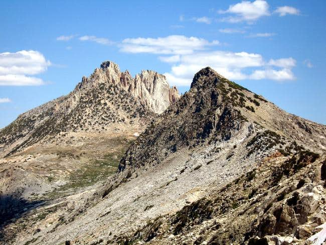 Craig Peak with Tower Peak