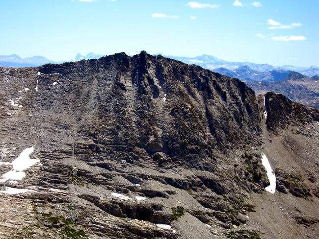 Craig Peak, west face