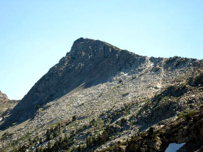 Craig Peak from the SW