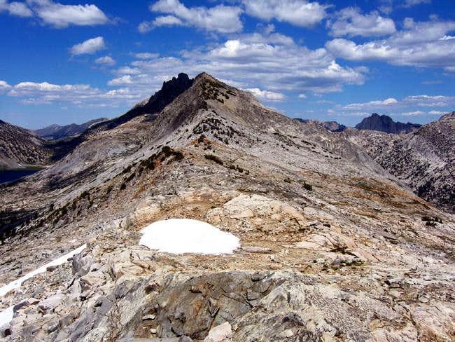 Route beta. The south ridge...