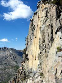 The west face of Craig Peak