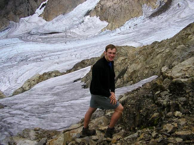 Brandon at Queest-Alb Glacier