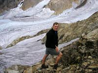 Brandon at Queest-Alb Glacier