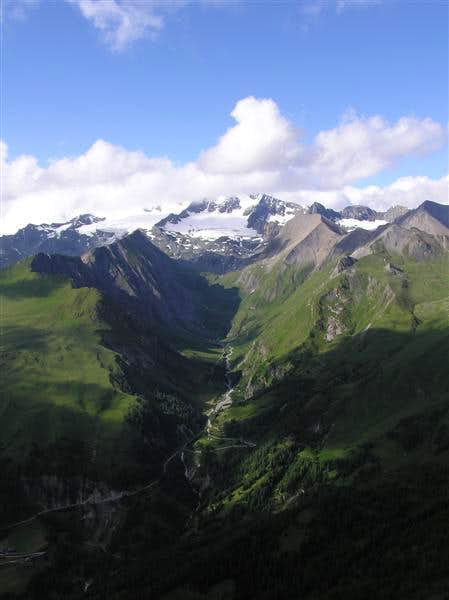 View on Grossglockner (in the...