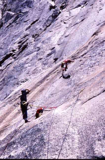 "On the 1st ascent of ""Jerks..."