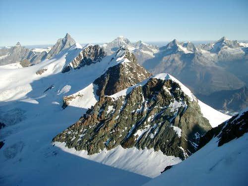 From Castor peak