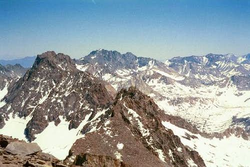 Norman Clyde Peak from the...
