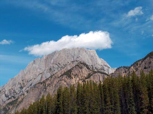Grizzly Peak from the south,...