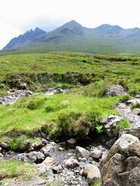 From near to Sligachan. The...