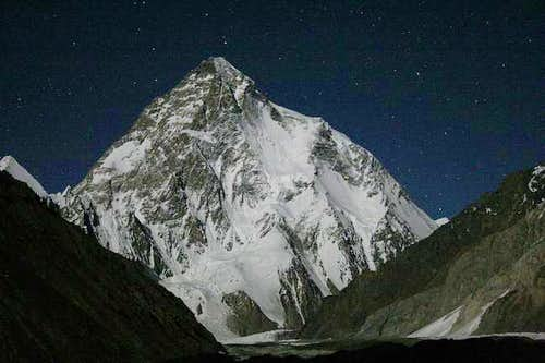 K2 under the stars Aug. 2005...