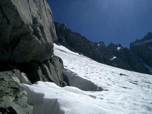 Glacier meets Mt Sill. I'm...