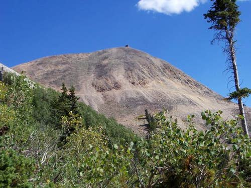 Hahns Peak as seen on...