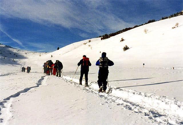 Winter in Monte Bondone