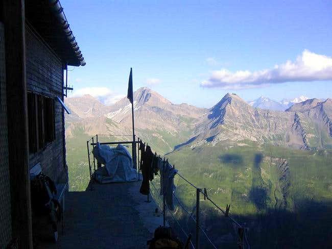 The Boccalatte hut.