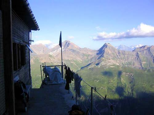 The Boccalatte hut.
