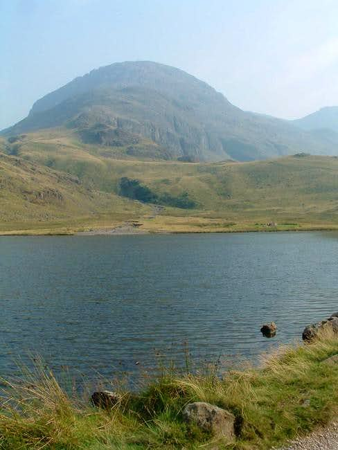 Great End from Styhead Tarn....