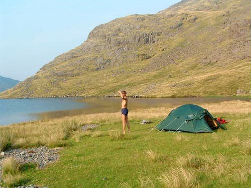 A perfect campsite, right...