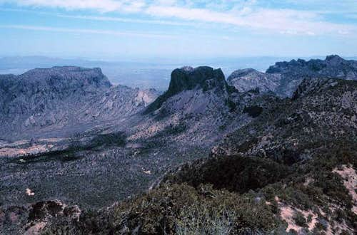 Photo from Emory Peak of the...