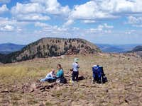 The summit of Sand Mountain,...