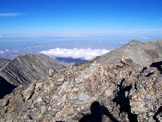 The SW ridge of Ellingwood...