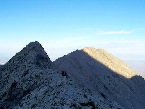 Climbers on the SW Ridge--...
