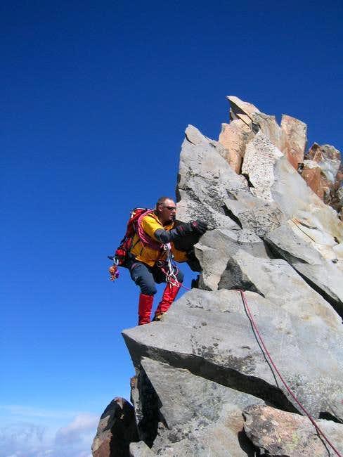 Nice rock climbing