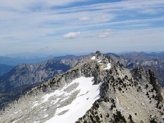 Ceasar Peak to the east of...