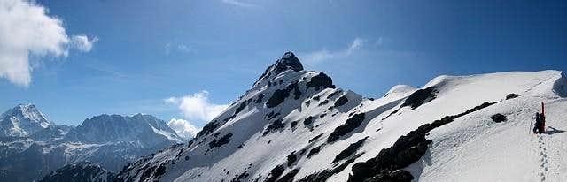 Pointe de Drone. East ridge...