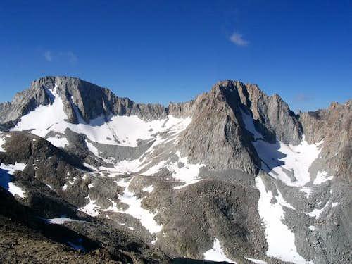 Mt Darwin (left) and Mt...
