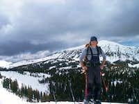 The East Face of Jackson Peak...