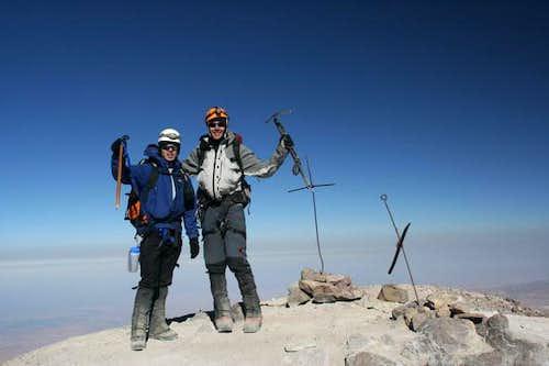 Summit of Chachani, 6075 m
