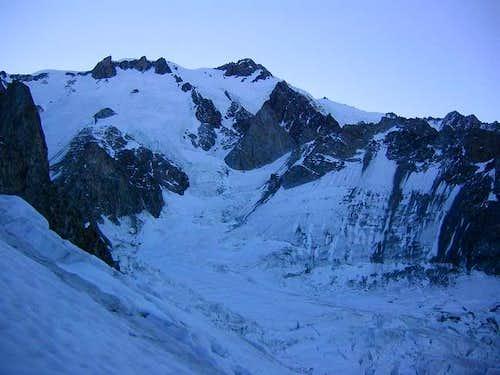 Rocher du Mont Blanc.(east...