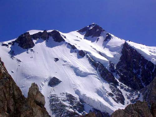 Rocher du Mont Blanc.(east...