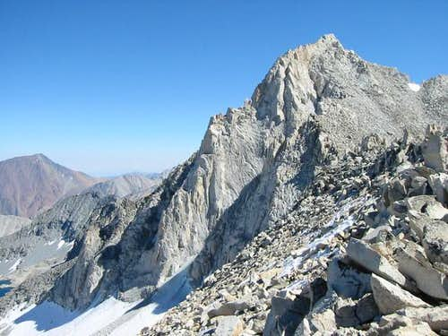 Nice view of North Arete on...