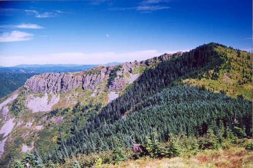 Bluff Mountain from Little...