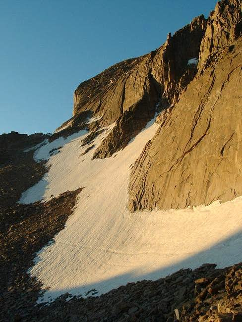 Alpenglow on the North Face...